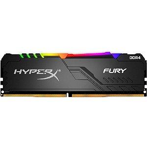 Memória Hyperx Fury Rgb 16gb 2400mhz Black Hx424c15fb4a/16