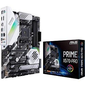 PLACA-MÃE ASUS PRIME X570-PRO SLI PCI-E 4.0 AMD AM4 M.2