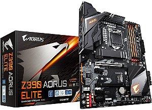 PLACA-MÃE GIGABYTE Z390 AORUS ELITE INTEL LGA 1151 DDR4 01