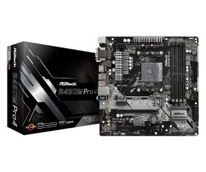 PLACA-MÃE ASROCK B450M PRO4 CROSSTIFE AMD AM4 DDR4