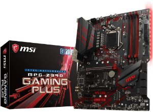 PLACA-MÃE MSI MPG Z390 GAMING PLUS CROSSFIRE INTEL 1151 DDR4