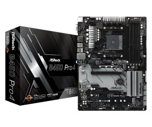 PLACA-MÃE ASROCK B450 PRO4 CROSSFIRE AMD AM4 DDR4
