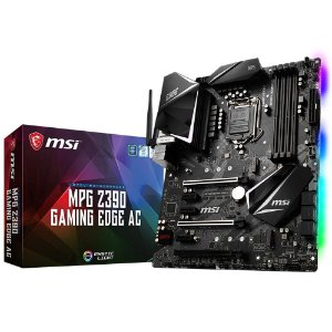 PLACA-MÃE MSI MPG Z390 GAMING EDGE AC WIFI SLI INTEL LGA 1151