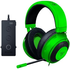 HEADSET GAMER RAZER KRAKEN TOURNAMENT EDITION THX GREEN
