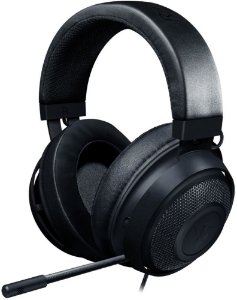 HEADSET GAMER RAZER KRAKEN OVAL MULTI PLATAFORMA BLACK