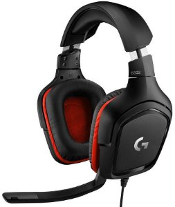 HEADSET GAMER LOGITECH G332 STEREO 50MM DRIVERS 981-000755