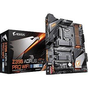 PLACA-MÃE GIGABYTE Z390 AORUS PRO WIFI INTEL LGA 1151 DDR4