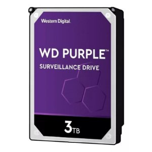 Hd Wd Purple Surveillance Dvr 3tb 5400Rpm 64mb Wd30purz