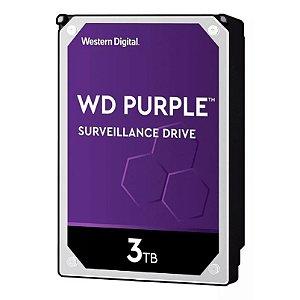 Hd Wd Purple Surveillance Dvr 3tb 5400Rpm 64mb Wd30purz