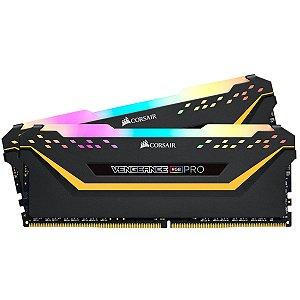 MEMÓRIA CORSAIR VENGEANCE RGB PRO 16GB (2X8GB) 3000MHZ DDR4 C15 TUF
