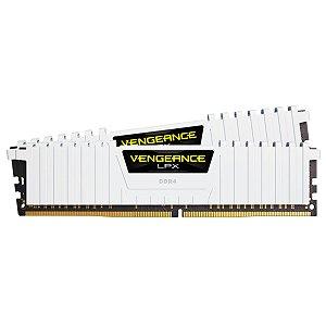 MEMÓRIA CORSAIR VENGEANCE LPX 16GB (2X8GB) 2666MHZ DDR4 WHITE