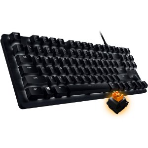 TECLADO MECÂNICO GAMER RAZER BLACKWIDOW LITE WHITE LED US RZ03-02640200-R3U1