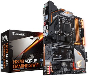 PLACA-MÃE GIGABYTE H370 AORUS GAMING 3 WIFI INTEL LGA 1151 DDR4