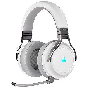 Headset Gamer Corsair Virtuoso Wireless White 7.1 Surround CA-9011186-NA