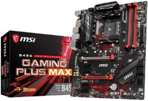 PLACA-MÃE MSI B450 GAMING PLUS MAX CROSSFIRE AMD AM4 DDR4