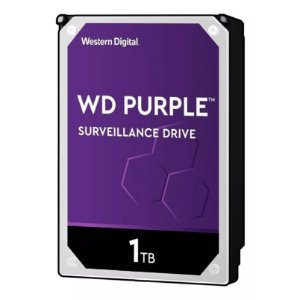 HD WD PURPLE SURVEILLANCE DVR 1TB 5400RPM 64MB WD10PURZ