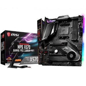 PLACA-MÃE MSI MPG X570 GAMING PRO CARBON WIFI AMD AM4 DDR4