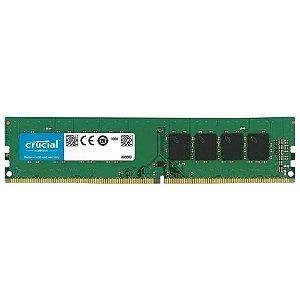 MEMÓRIA CRUCIAL ESSENTIAL 4GB 2400MHZ CT4G4DFS824A DDR4 OEM