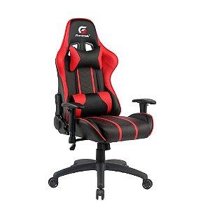 Cadeira Gamer Black Hawk Preta/Vermelha FORTREK