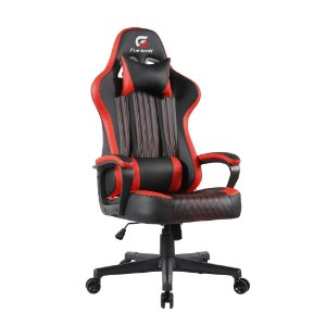 Cadeira Gamer Vickers Preta/Vermelha FORTREK