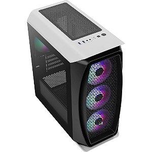 Gabinete Gamer Mini Tower Aero One Mini Frost Branco AEROCOO