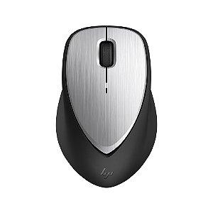 Mouse sem Fio Recarregável Envy 500 2LX92AAABL Prata e Pret
