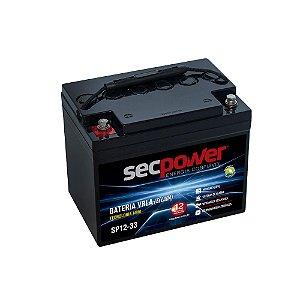 Bateria de Chumbo Ácida VRLA SP12-33 SECPOWER