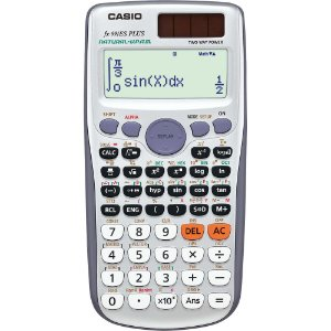 Calculadora Científica 417 Funções FX-991ES PLUS Cinza CA