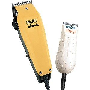 Kit Máquina de Cabelo Classic + Peanut 127V WAHL