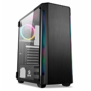 GABINETE GAMER REDRAGON NOSECONE MID TOWER RGB GC-909