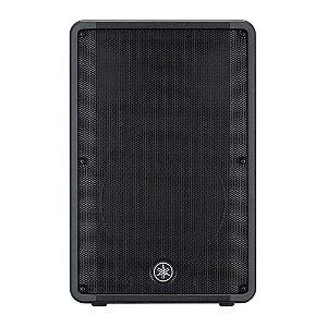 """Caixa Acústica Ativa 15"""" 465W DBR-15 Preta YAMAHA"""