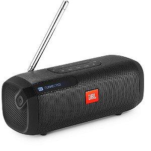 Caixa Multimídia Portátil Bluetooth Tuner FM Preta JBL