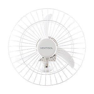 Ventilador de Parede Comercial 50cm Bivolt Branco VENTISOL