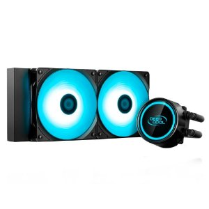 WATERCOOLER DEEPCOOL GAMMAXX L240T BLUE 240MM LED AZUL