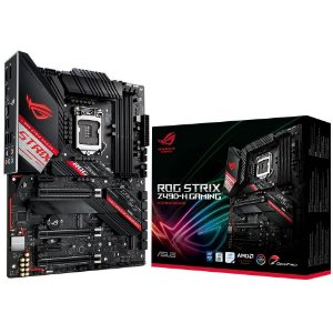 PLACA-MÃE ASUS ROG STRIX Z490-H GAMING INTEL LGA 1200 DDR4