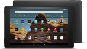 TABLET AMAZON FIRE HD 10 32GB 1080P OCTA-CORE DUAL-BAND AC WIFI DOLBY ATMOS BLACK
