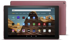 TABLET AMAZON FIRE HD 10 32GB 1080P OCTA-CORE DUAL-BAND AC WIFI DOLBY ATMOS PLUM
