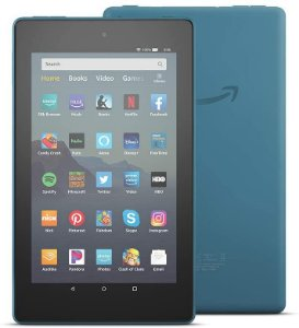 TABLET AMAZON FIRE 7 16GB QUAD-CORE DUAL-BAND WIFI TWILIGHT BLUE