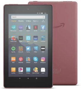 TABLET AMAZON FIRE 7 16GB QUAD-CORE DUAL-BAND WIFI TWILIGHT PLUM