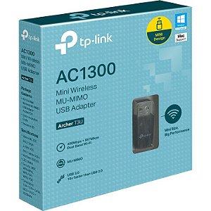 MINI ADAPTADOR USB SEM FIO TP-LINK AC1300 ARCHER T3U