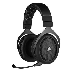 Headset Gamer Corsair Hs70 Pro Wireless 7.1 Surround Carbon