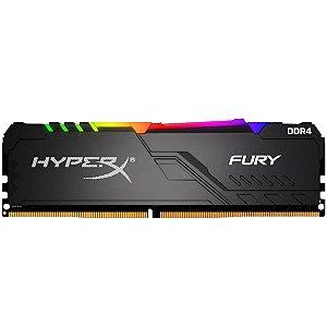 Memória Hyperx Fury Rgb 16gb 3000mhz Black Hx430c16fb4a/16
