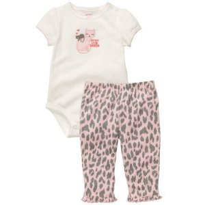 Conjunto Carter's Animal Print