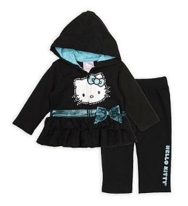 Conjunto Hello Kitty Black