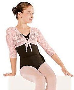 3cf904a40 Meia-calça com pé conversível - Infantil -Só Dança - Urso Branco ...
