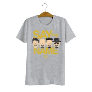 Camiseta Breaking Bad Say my Name