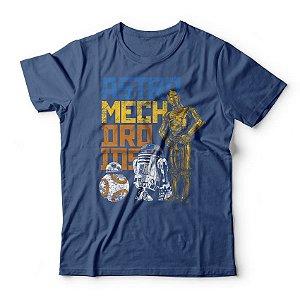Camiseta BB8, R2D2 & C3PO