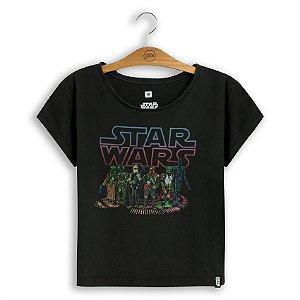 Camiseta Feminina Star Wars Bounty Hunters