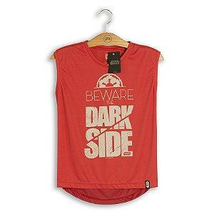 Camiseta Feminina Dry Fit Star Wars Beware The Dark Side