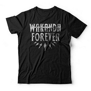Camiseta Pantera Negra Wakanda Forever